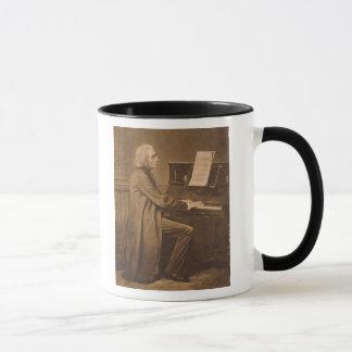 Franz Liszt  at the Piano Mug