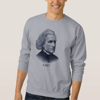 Franz Liszt, azul Sudadera