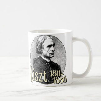 Franz Liszt Coffee Mugs