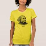Franz Liszt, negro Camiseta