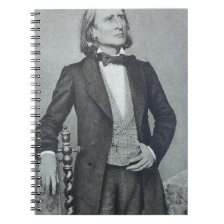 franz liszt notebook