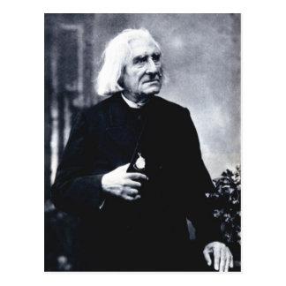 Franz Liszt Postcard