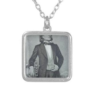 franz liszt square pendant necklace
