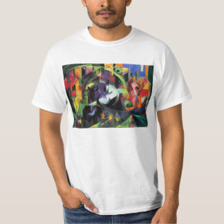 Franz Marc - Abstract with cattle Tee Shirts