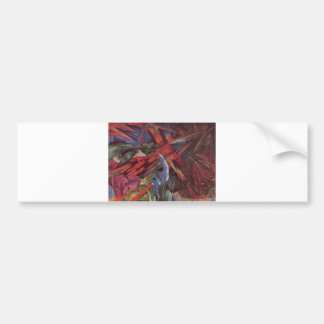 Franz Marc - Animal Fates 1913 Canvas Death After Bumper Sticker