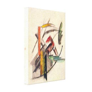 Franz Marc - Animal Gallery Wrap Canvas
