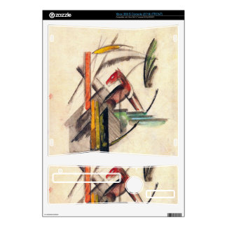 Franz Marc - Animal Xbox 360 S Console Decal