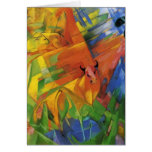Franz Marc- Animals in a Landscape Greeting Cards