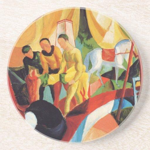 Franz Marc Art Beverage Coasters