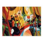 Franz Marc Art Postcard