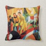Franz Marc Art Throw Pillows