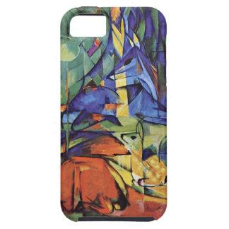 Franz Marc - arte alemán del expresionista - cierv iPhone 5 Protector
