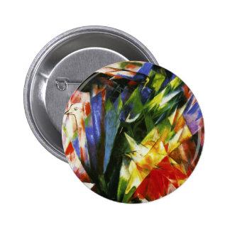 Franz Marc Birds Buttons