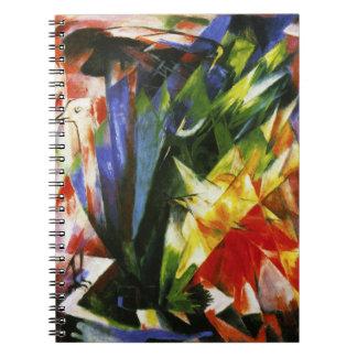 Franz Marc Birds Notebook