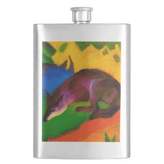 Franz Marc Blue Black Fox Flask