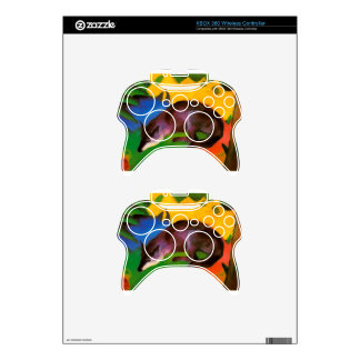 Franz Marc Blue Black Fox Xbox 360 Controller Skin