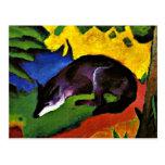 Franz Marc - Blue Fox Postcard