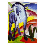 Franz Marc Blue Horse Greeting Card