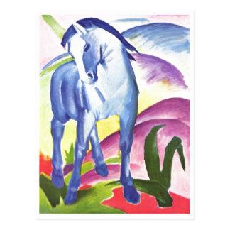 Franz Marc - Blue Horse I 1911 Equine Equestrian Postcard