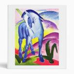 Franz Marc - Blue Horse I 3 Ring Binders