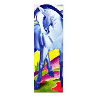 Franz Marc - Blue Horse I Mini Business Card