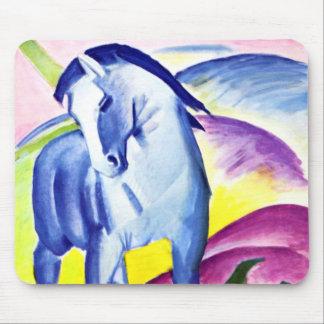 Franz Marc - Blue Horse I Mouse Pad