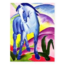 Franz Marc - Blue Horse I Postcard