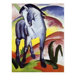 Franz Marc- Blue Horse I Postcard