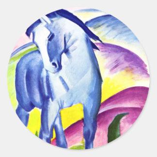 Franz Marc - Blue Horse I Stickers