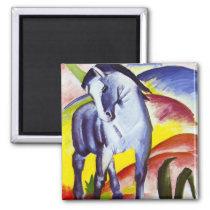 Franz Marc Blue Horse Magnet