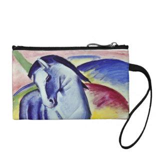 Franz Marc Blue Horse Vintage Fine Art Painting Change Purse
