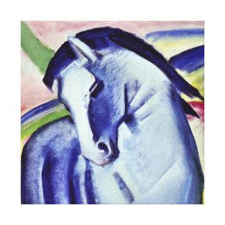 Franz Marc Blue Horse Vintage Fine Art Painting Canvas Print