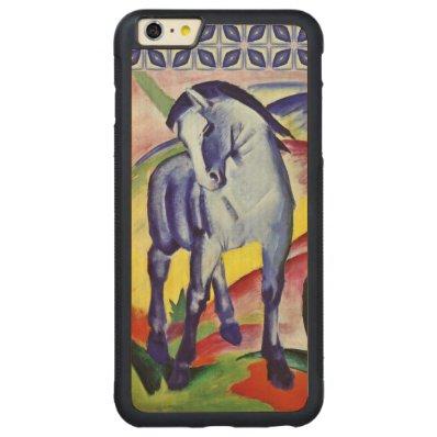 Franz Marc Blue Horse Vintage Fine Art Painting Carved® Maple iPhone 6 Plus Bumper Case