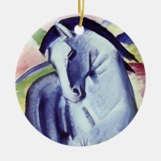 Franz Marc Blue Horse Vintage Fine Art Painting Ceramic Ornament