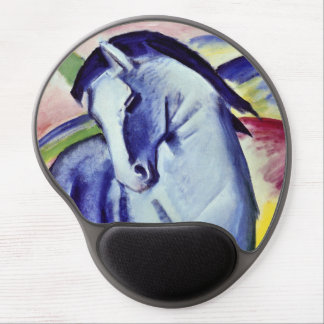 Franz Marc Blue Horse Vintage Fine Art Painting Gel Mouse Pad