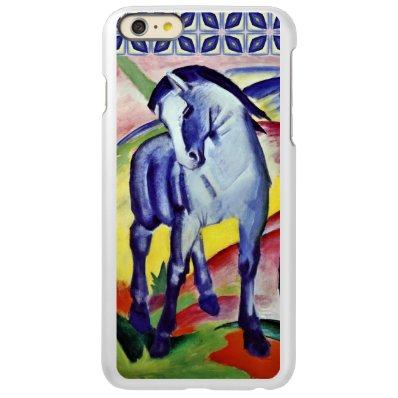 Franz Marc Blue Horse Vintage Fine Art Painting Incipio Feather® Shine iPhone 6 Plus Case