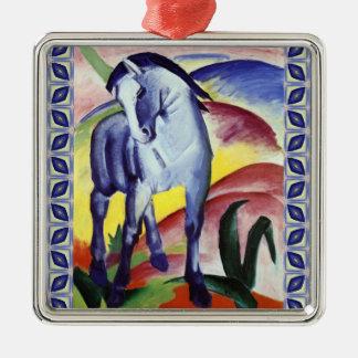 Franz Marc Blue Horse Vintage Fine Art Painting Metal Ornament