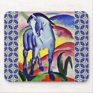 Franz Marc Blue Horse Vintage Fine Art Painting Mouse Pad