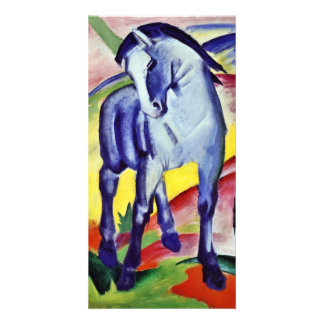 Franz Marc Blue Horse Vintage Fine Art Painting Picture Card