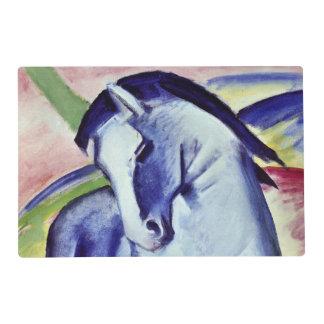 Franz Marc Blue Horse Vintage Fine Art Painting Placemat