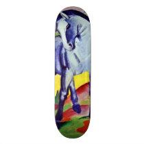 Franz Marc Blue Horse Vintage Fine Art Painting Skateboard