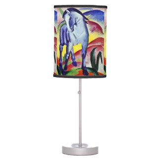 Franz Marc Blue Horse Vintage Fine Art Painting Table Lamp