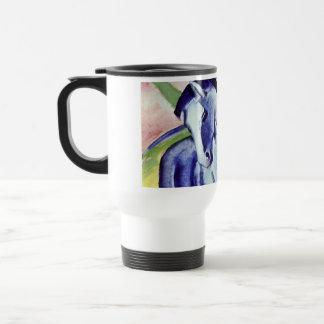 Franz Marc Blue Horse Vintage Fine Art Painting Travel Mug