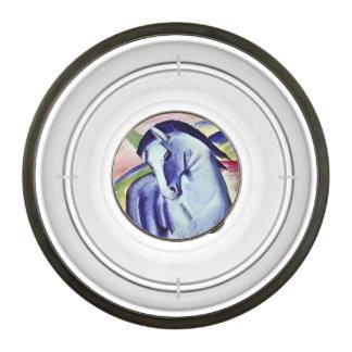 Franz Marc Blue Horse Vintage Fine Art Painting Pet Bowl