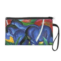 Franz Marc Blue Horses Wristlet