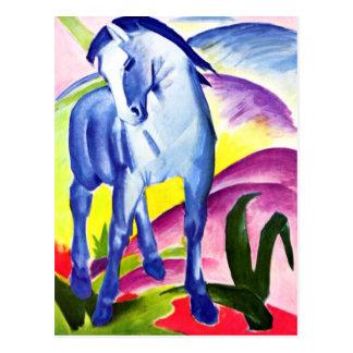 Franz Marc - caballo azul I Tarjeta Postal