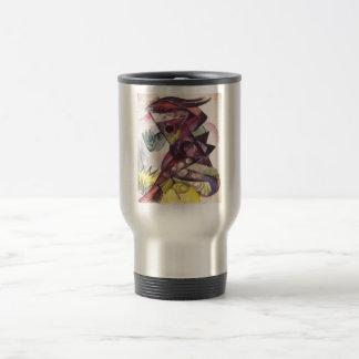 Franz Marc - Caliban Tempest Shakespeare 1914 Travel Mug