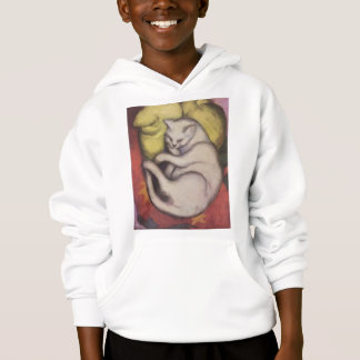 Franz Marc - Cat on a Yellow Cushion Hoodie