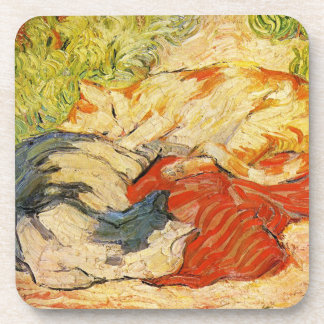 Franz Marc Cats Coasters