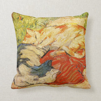 Franz Marc Cats Throw Pillow